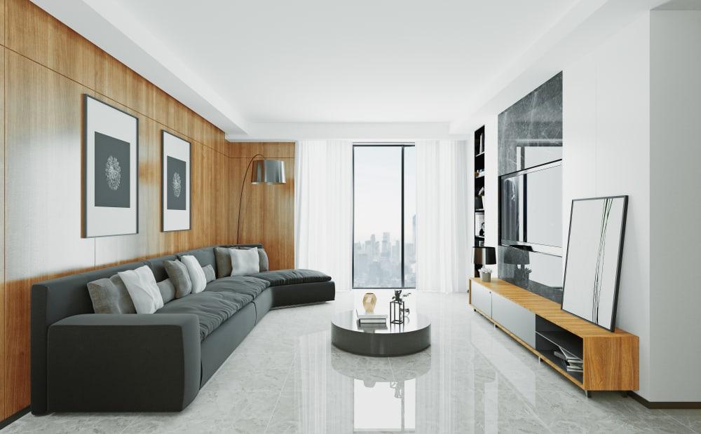 Modern Minimalist Living Room 3