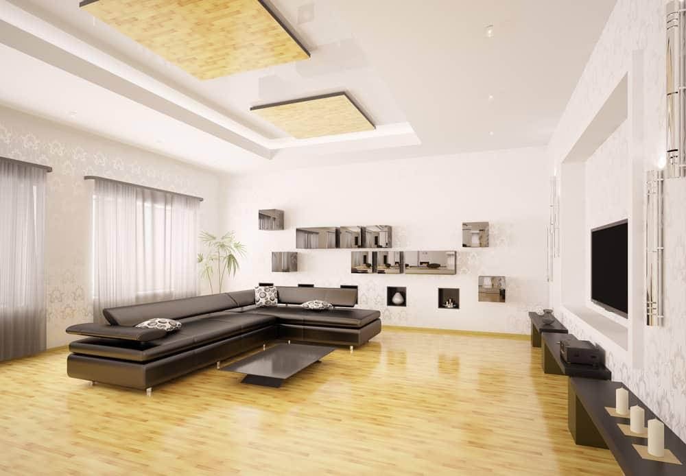 Modern Minimalist Living Room 6