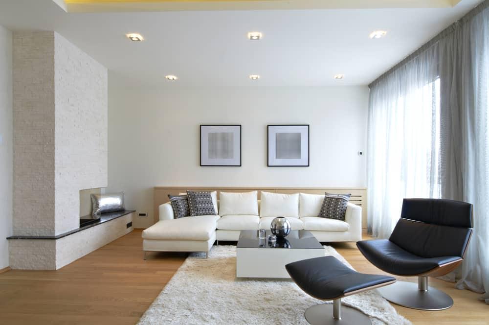 Modern Minimalist Living Room 8