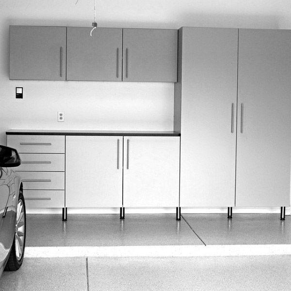 Modern Minimalistic Garage Storage Ideas