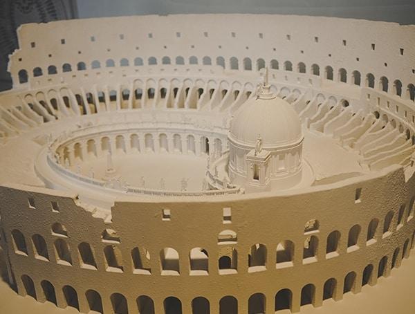 Modern Model Of The Colosseum