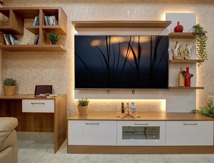 Modern Modular Home Entertainment Center