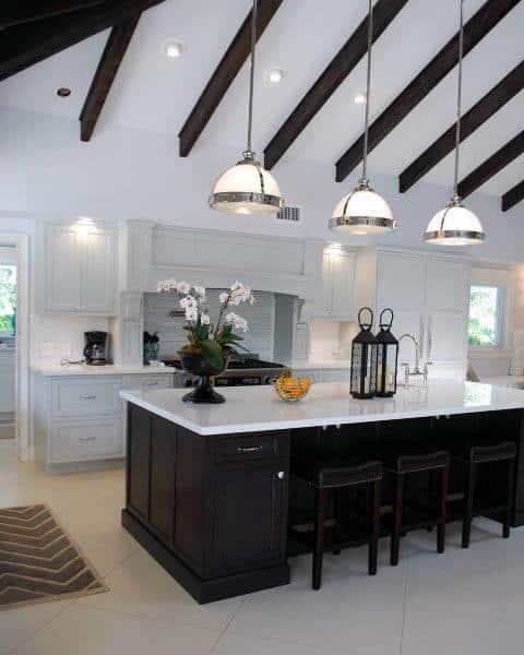 Modern Multi Color Kitchen Cabinet Black And White Designs