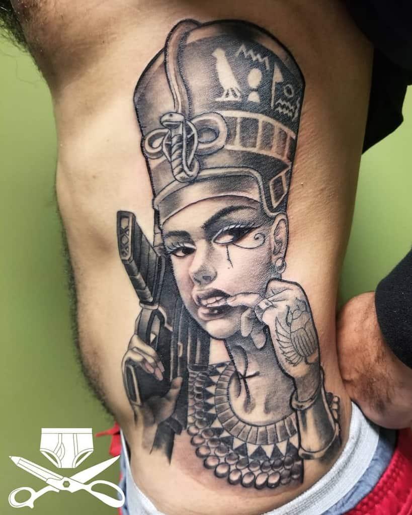 Modern Nefertiti Tattoos Ferbzilla