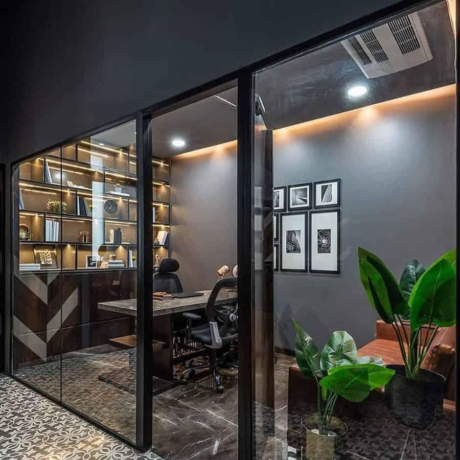 Modern Office Decor Da Namah Design Studio