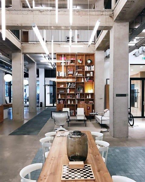 Modern Office Floor To Ceiling Bookshelves Spectacular Ideas