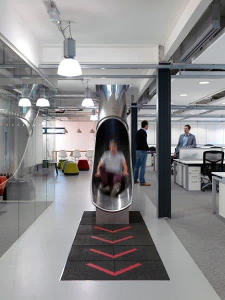 Modern Office Indoor Slide Ideas