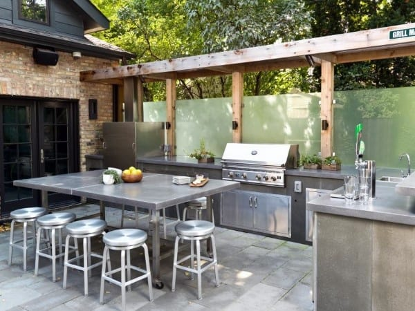 Modern Outdoor Kitchen Ideas