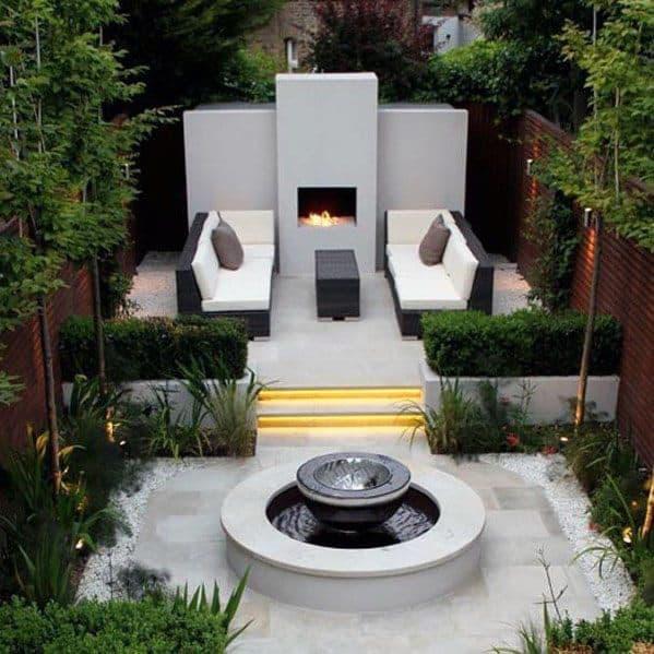 Modern Patio Cool Backyard Ideas