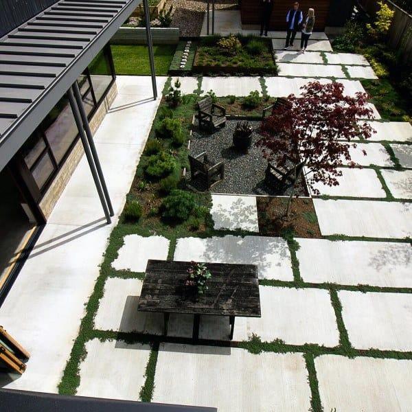 Top 60 Best Outdoor Patio Ideas - Backyard Lounge Designs on Modern Patio Ideas id=26514