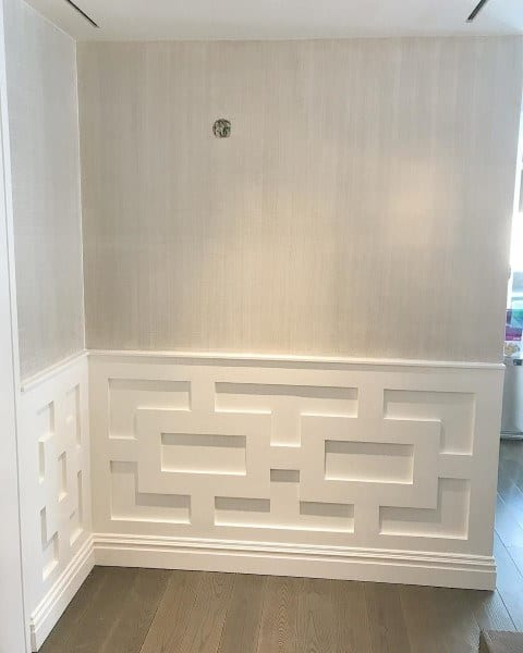 Modern Pattern Wainscoting Ideas
