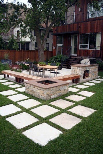 Modern Paver Patio Design Ideas