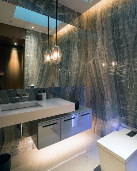 Modern Pendant Bathroom Lighting Ideas