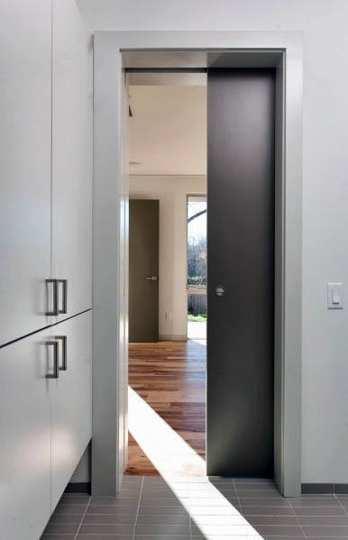 Modern Pocket Door Design Idea Inspiration
