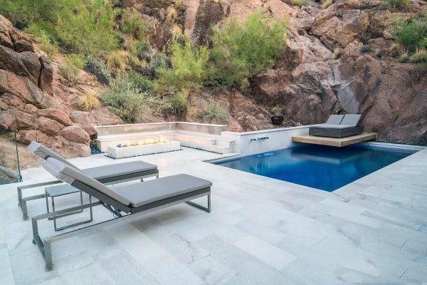 Modern Pool Cool Backyard Ideas