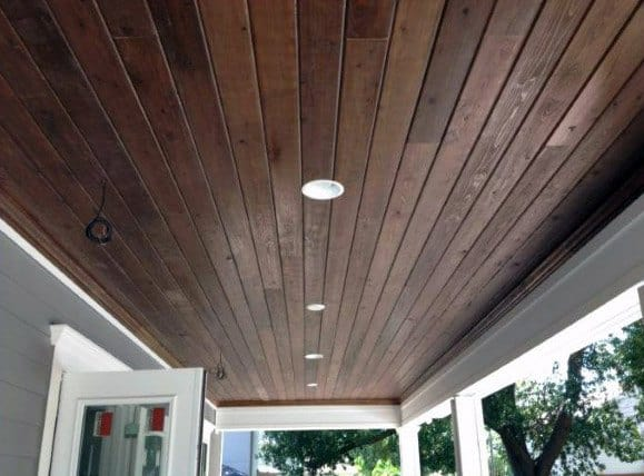 Modern Porch Wood Ceiling Ideas