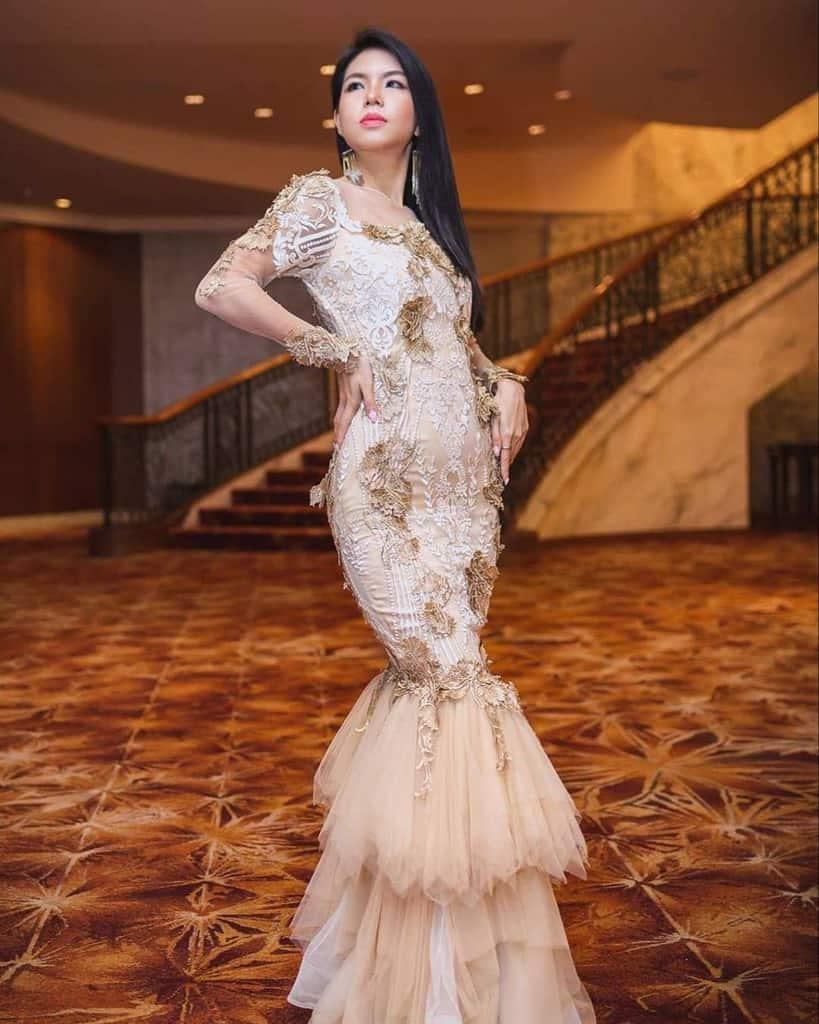 Modern Pretty Victorian Dress
