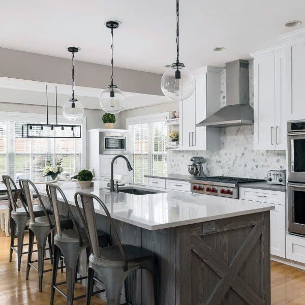 Top 60 Best Rustic Kitchen Ideas - Vintage Inspired ... on Modern Kitchen Ideas  id=20090