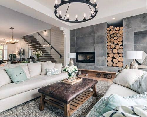 Top 60 Best Rustic Living Room Ideas Vintage Interior