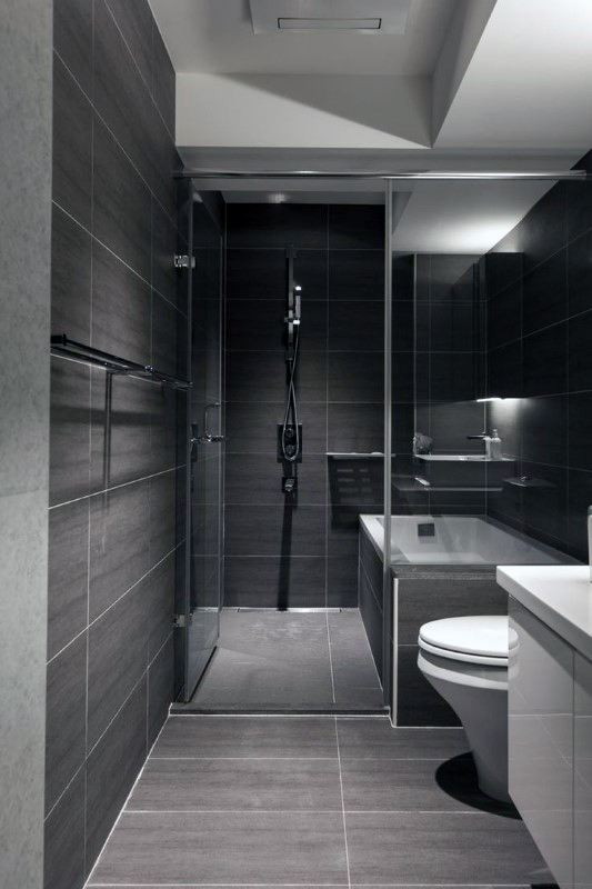 Modern Showers Bathrooms
