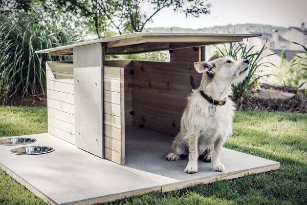 Modern Simple Dog House Ideas