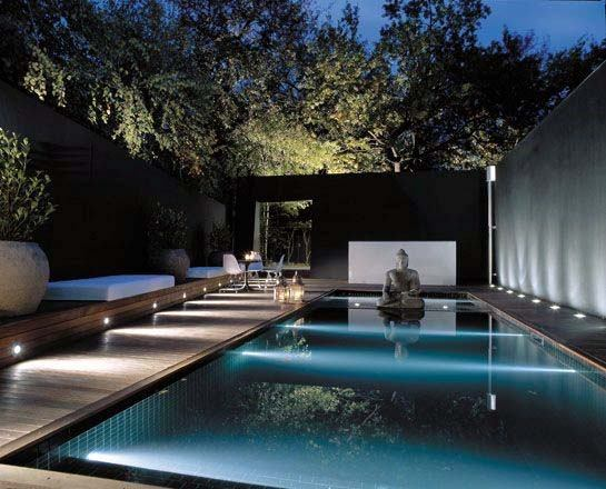 Modern Simple Underwater Led Pool Lighting Home Ideas