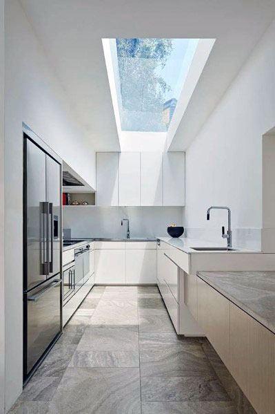 Modern Skylight Kitchen Ceiling Ideas