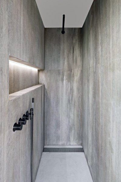 Modern Sleek Shower Lighting Ideas