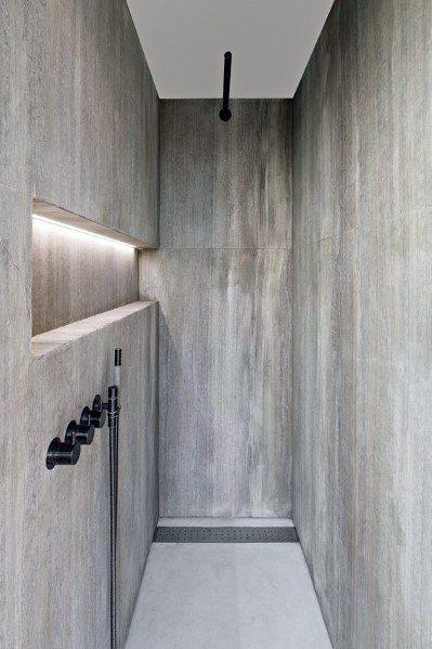 Modern Sleek Shower Lighting Ideas