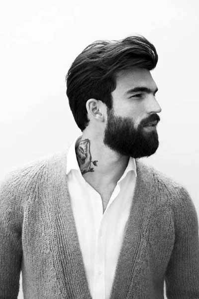 Modern Slicked Back Hair For Men