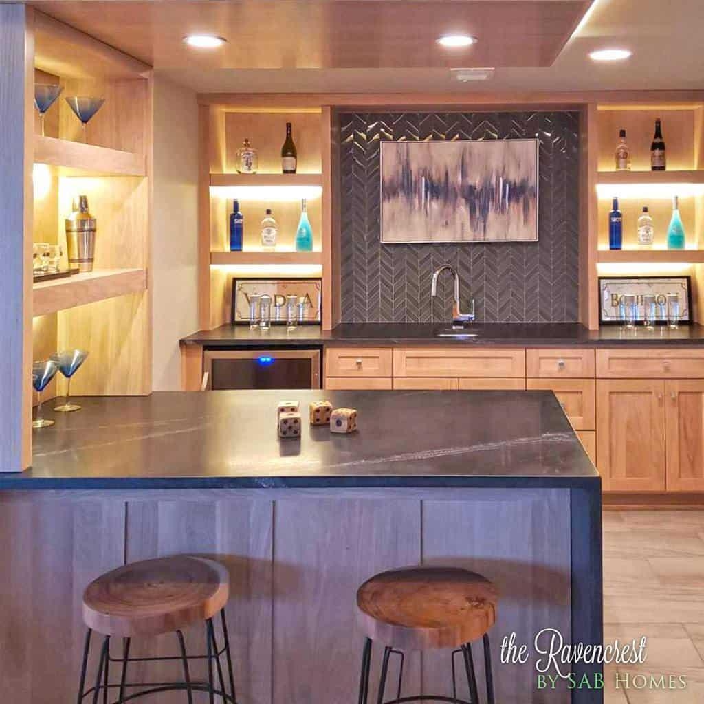 modern small basement ideas sab_homes
