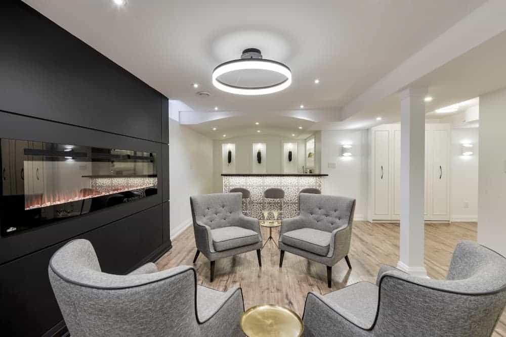 modern small basement ideas wildenorthinteriors