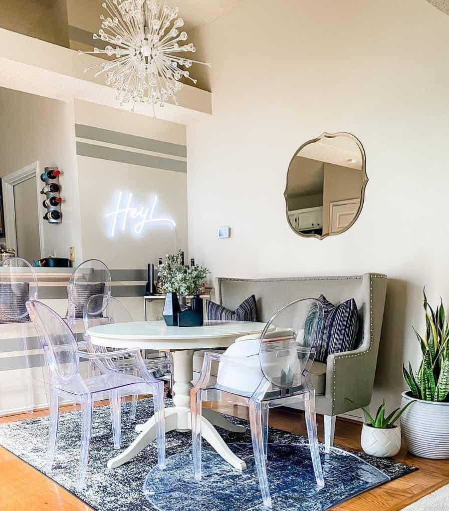 modern small dining room ideas stylishlybritt