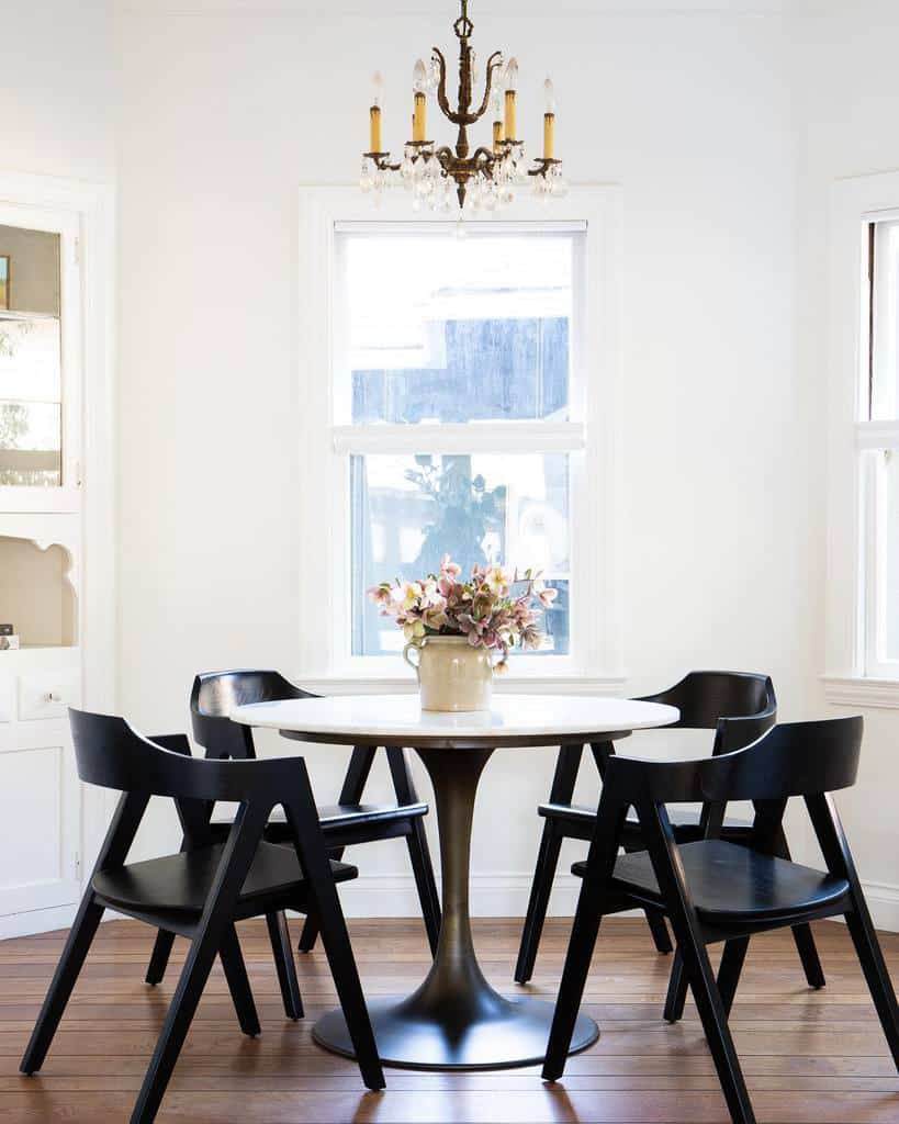 modern small dining room ideas vintagerugshop