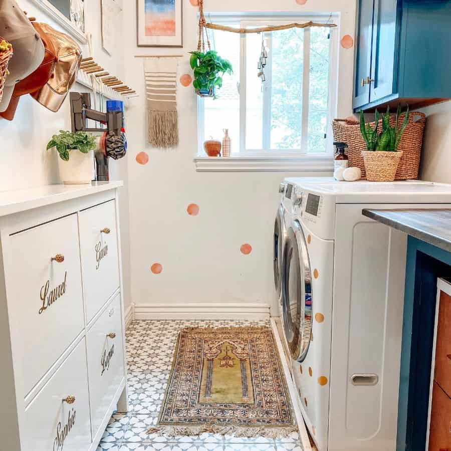 Modern Small Laundry Room Thehousethatdiybuilt