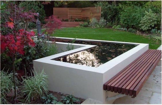 Modern Small Pond Ideas