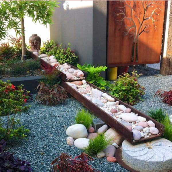 Top 70 Best Desert Landscaping Ideas: Top 50 Best River Rock Landscaping Ideas