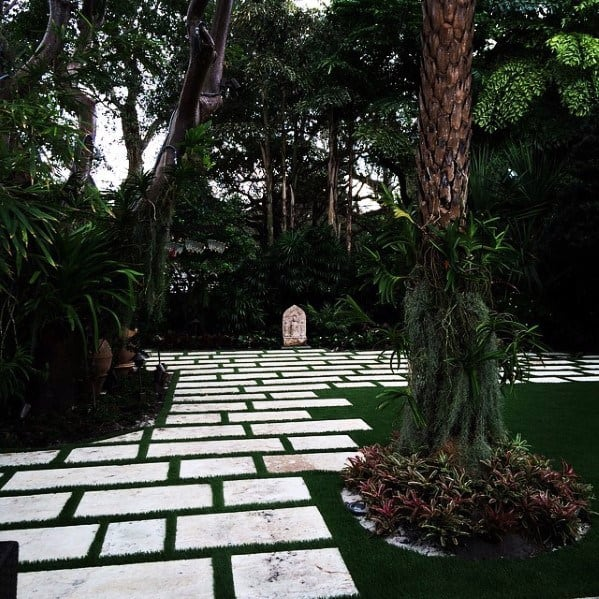 Top 70 Best Stepping Stone Ideas Hardscape Pathway Designs