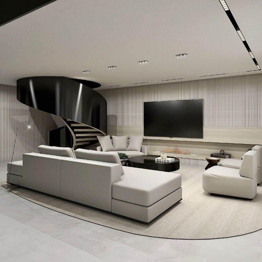 modern tv room ideas larissamacielarquitetura