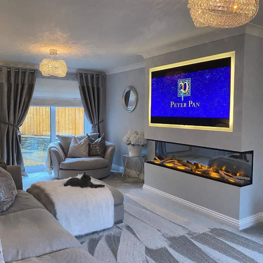 modern tv room ideas mrselizabethhome