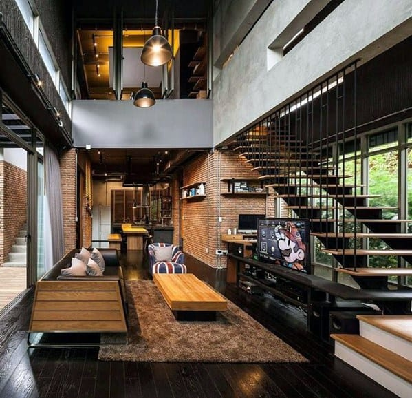50 ultimate bachelor pad designs for men luxury interior for Modern bachelor pad ideas