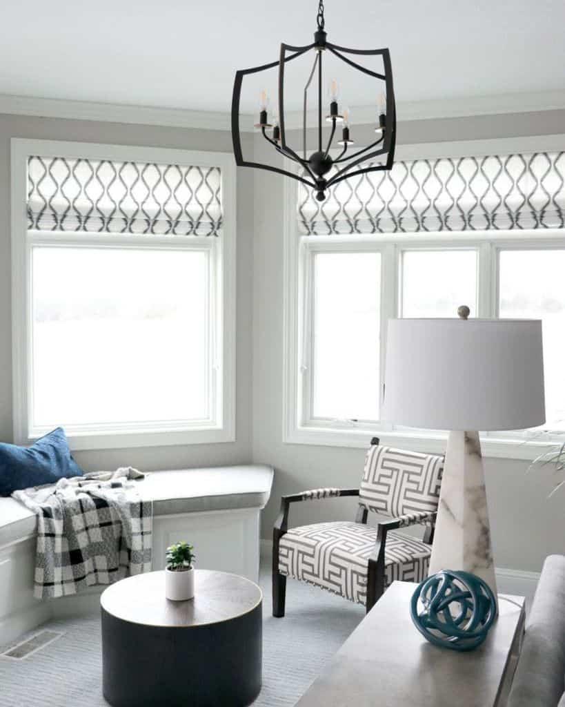 Modern Window Seat Natasajonesinteriors
