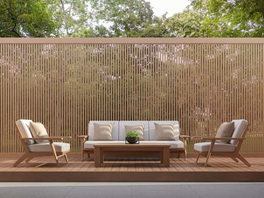 Modern Wood Fence Ideas (3)