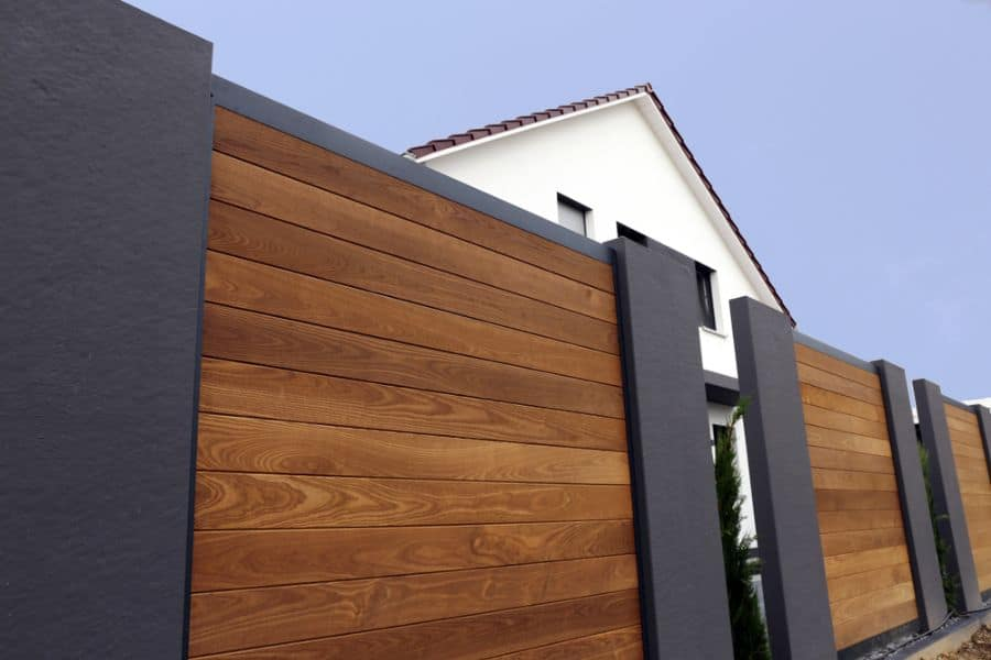 Modern Wood Fence Ideas (4)