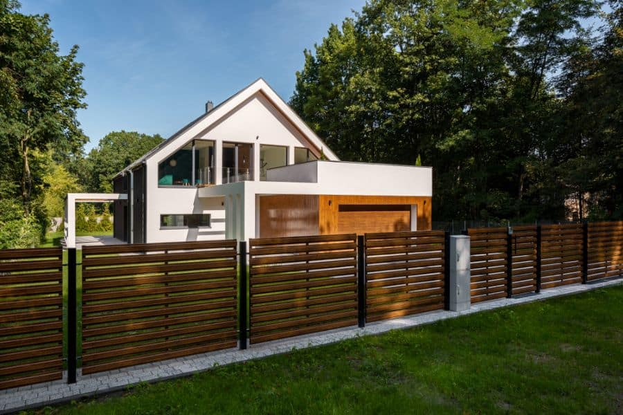 Modern Wood Fence Ideas (5)