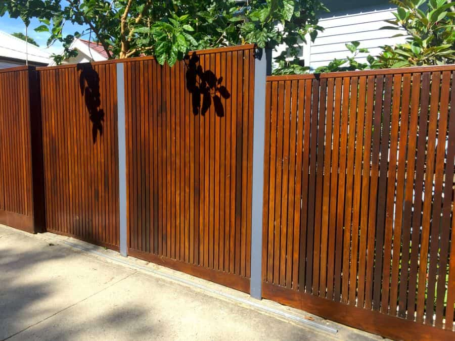 Modern Wood Fence Ideas (8)