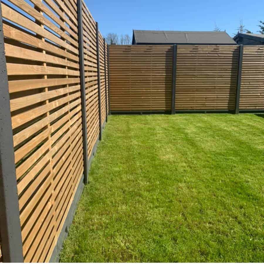 Modern Wood Fence Ideas Myhouseblag