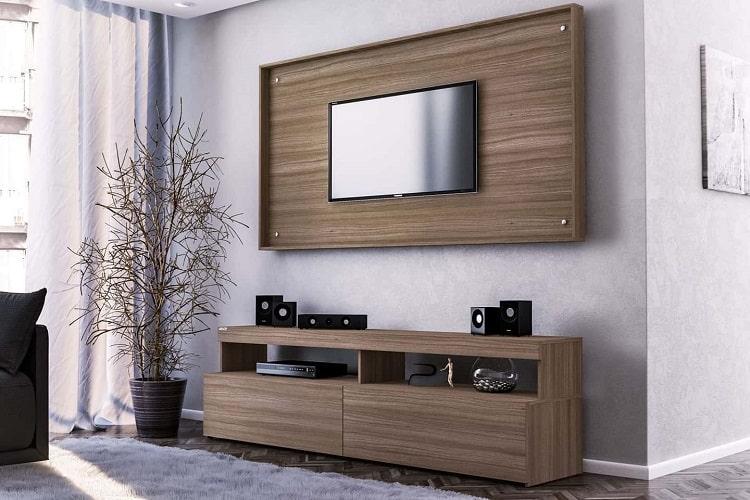 Modern Wooden Tv Stand Entertainment Center