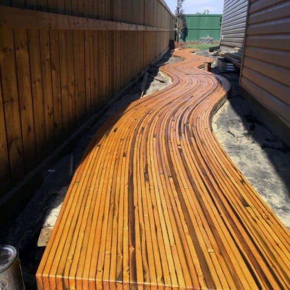 Modern Wooden Walkway Ideas Inspiration