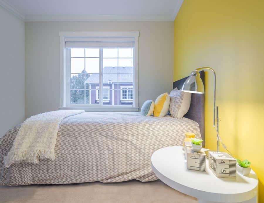 modern yellow bedroom ideas 2